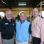 Executive Director of Cabbage Patch Rev. Tracy Holladay, Rob Crady and Board President Chip Snyder.
