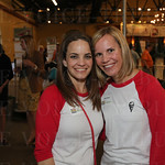 Erin Steinke and Tara Welsh.