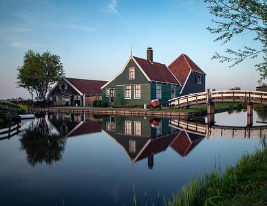 4. Zaanse Schans, Netherlands