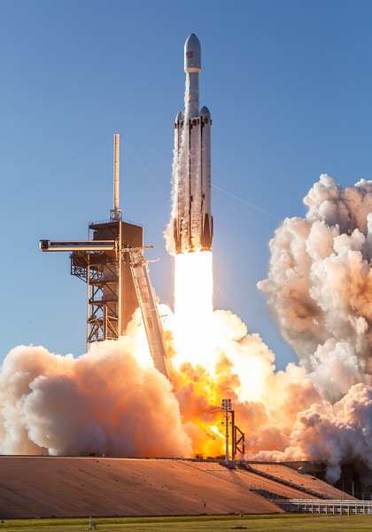 Falcon Heavy ArabSat 6A Mission