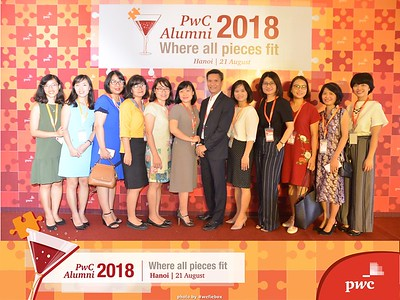 PwC Alumni Party 2018 Photo Booth - Chụp hình in ảnh lấy liền Sự kiện tại Hà Nội