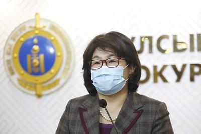 2021 оны нэгдүгээр сарын 13. Улсын ерөнхий прокурорын газараас цаг үеийн асуудлаар мэдээлэл хийлээ. ГЭРЭЛ ЗУРГИЙГ Г.ӨНӨБОЛД/МРА