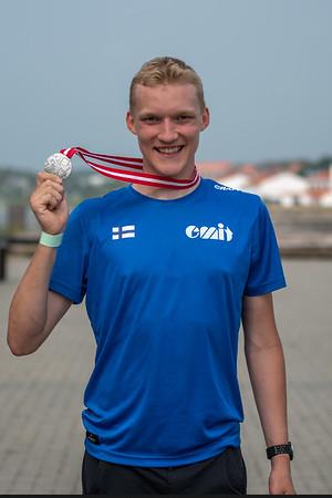Juha Lilja - Nuorten MM-hopeaa