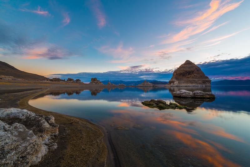 Pyramid Lake Nevada