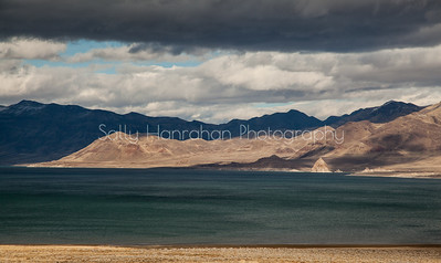 Pyramid Lake ~ Winter Clouds