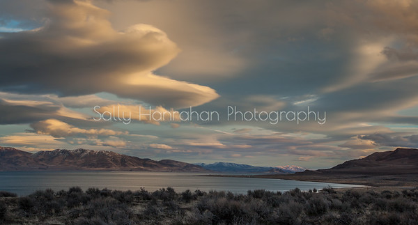 East Shore Sunset ~ Pyramid Lake #2
