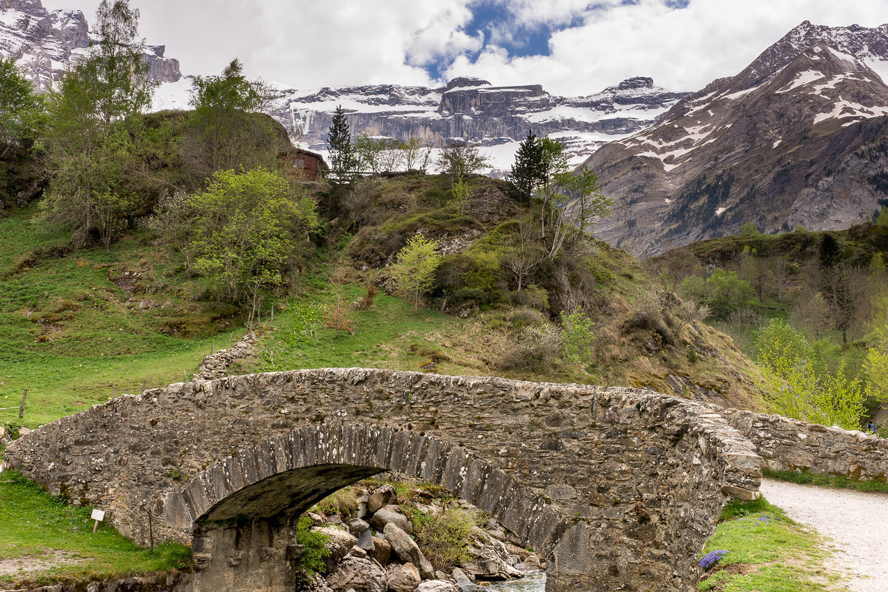 Bridge just outside town of Gavarnie