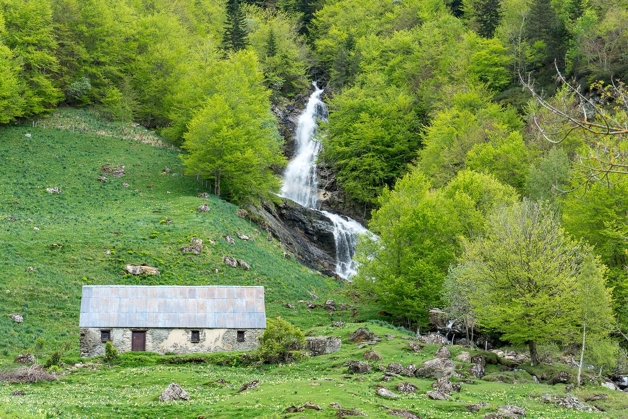 Scene near Gavarnie