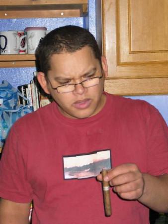 Tristan's arrival 11 Feb 2004