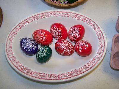 pysanky eggs, 2016