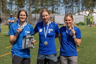 Naiset hopeaa - Marika Hara, Ingrid Stengård, Mervi Pesur