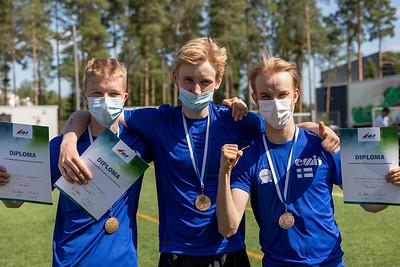 Nuoret miehet pronssia - Tatu Aaltonen, Simo Klemettinen, Antti Rissanen