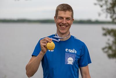 Maailmanmestari Samuel Pökälä, keskimatka