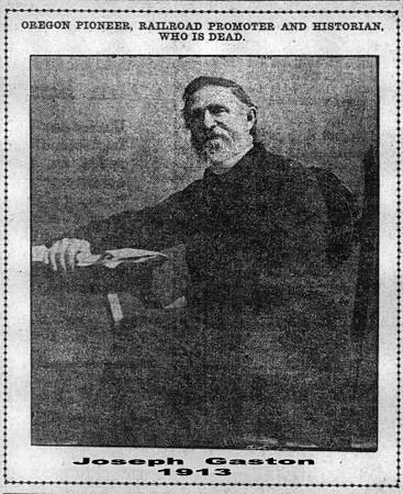 Joseph Gaston 1913