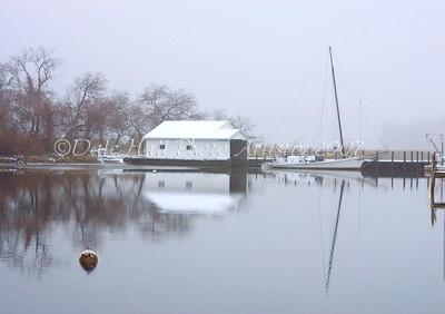 Winter On Queenstown Creek