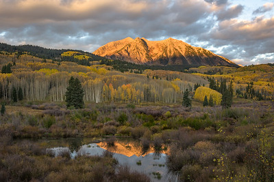 East Beckwith Mountain by Phyllis Peterson