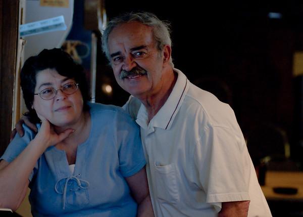 Tournament director Sue Davis & Chuck Wiggin, Sr.