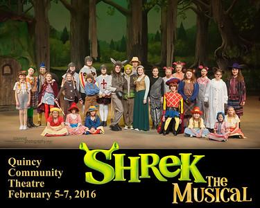 "QCT Presents: ""Shrek - the Musical"" 2016"
