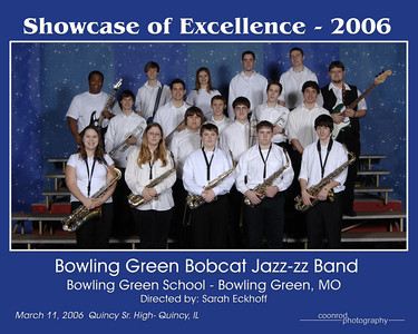 Bowling Green Bobcat Jazz-zz Band Bowling Green High School Bowling Green, MO