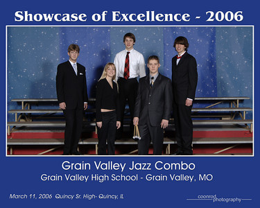 Grain Valley High School Jazz Combo Grain Valley High School Grain Valley, MO