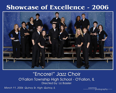 """Encore!"" Jazz Choir O'Fallon Township High School O'Fallon, IL"