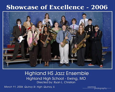 Highland High School Jazz Ensemble Highland High School Ewing, MO