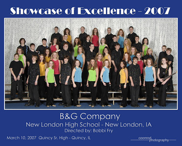 B&G Company New London High School New London, IA