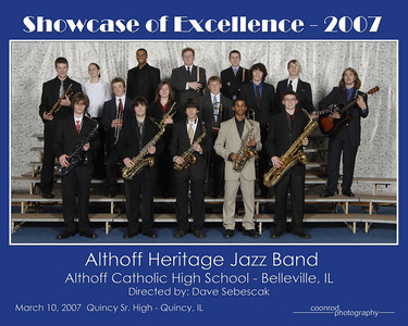 Althoff Heritage Jazz Band Althoff Catholic High School Belleville, IL