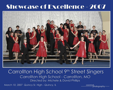 Carrollton High School 9th Street Singers Carrollton High School Carrollton, MO