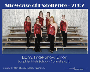Lion's Pride Show Choir Lanphier High School Springfield, IL