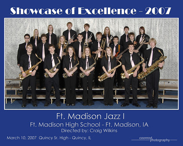 Fort Madison Jazz I Fort Madison High School Fort Madison, IA