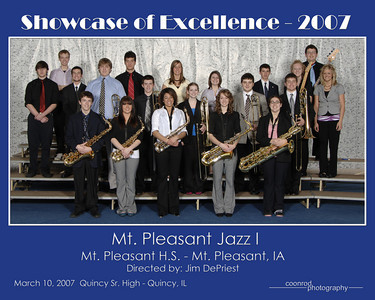 Mt. Pleasant Jazz I Mt. Pleasant High School Mt. Pleasant, IA