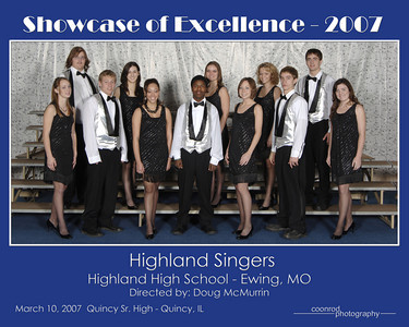 Highland Singers Highland High School Ewing, MO