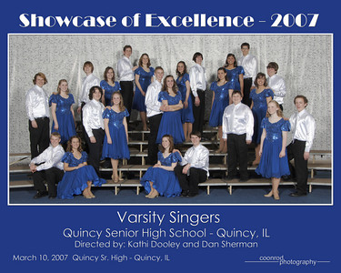 Varsity Singers Quincy Senior High School Quincy, IL