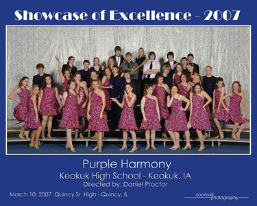 Purple Harmony Keokuk High School Keokuk, IA