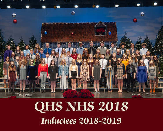 7114 NHS Inductees