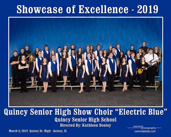 Quincy Senior High Show Choir Electric Blue