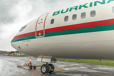 Government of Burkina Faso Boeing 727-282(A)(RE) XT-BFA 10-26-19 3