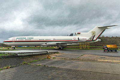 Government of Burkina Faso Boeing 727-282(A)(RE) XT-BFA 10-26-19 2