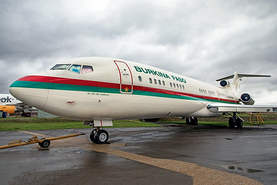 Government of Burkina Faso Boeing 727-282(A)(RE) XT-BFA 10-26-19 1A