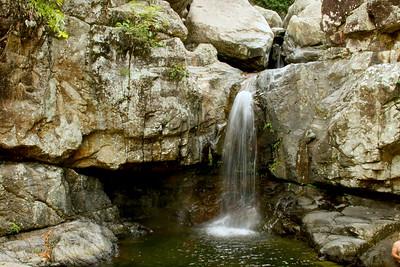 Little Crystal Creek Waterfall