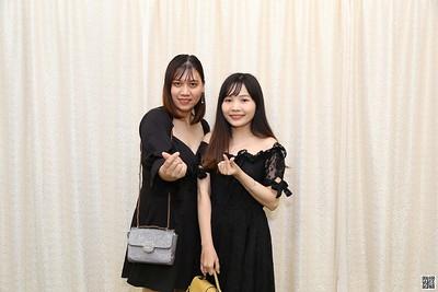 Q&Q Wedding instant print photo booth @ Diamond Palace 2 | Chụp hình in ảnh lấy liền Tiệc cưới tại TP HCM | WefieBox Photobooth Vietnam