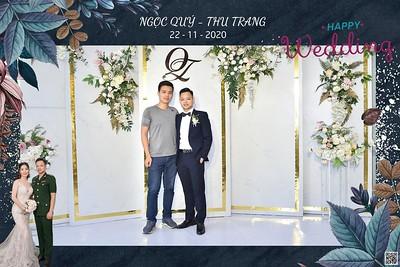 Ngọc Quý & Thu Trang wedding instant print photo booth @ CTM Palace | Chụp hình in ảnh lấy ngay Tiệc cưới tại Hà Nội | Ha Noi Photo Booth