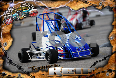 QUARTER MIDGET DUEL IN THE DESERT 2016