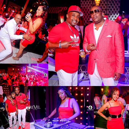 QUE TRUITT RED & WHITE PRE SUMMER SPLASH PARTY @ REVEL 6-22-18