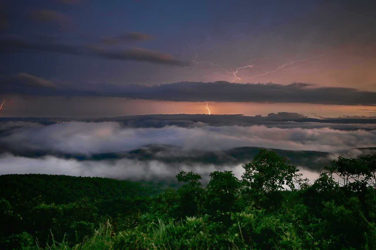 Valley of Clouds and Lightning - Queen Wilhelmina State Park - Arkansas - Aug 2016