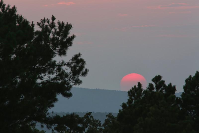 A  Sunset Peak - Talimena Scenic Drive