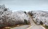 Icy Drive - Talimena Scenic Drive