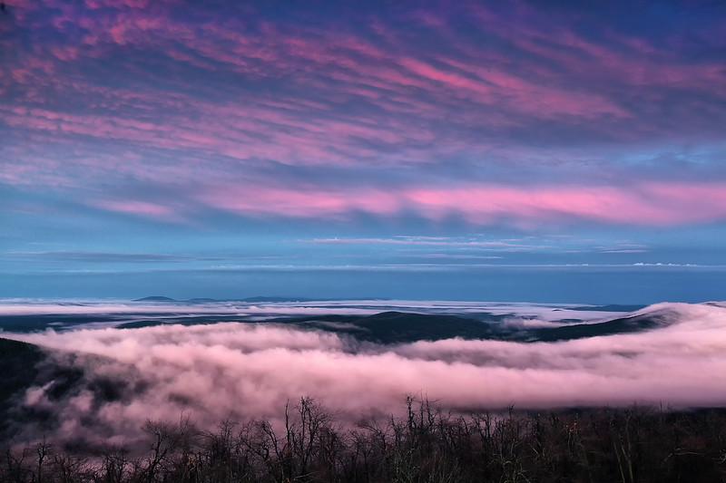 Cotton Candy Clouds - Queen Wilhelmina State Park
