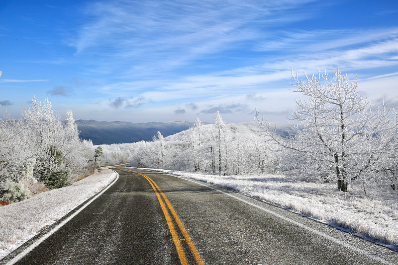 Talimena National Scenic Byway - Dec 2016